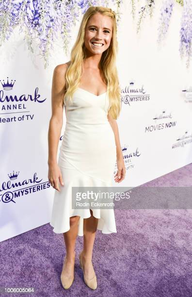 Cassidy Gifford attends the 2018 Hallmark Channel Summer TCA at a private residence on July 26 2018 in Beverly Hills California