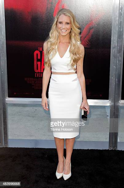 Cassidy Gifford attends the premiere of 'The Gallows' at Hollywood High School on July 7 2015 in Los Angeles California