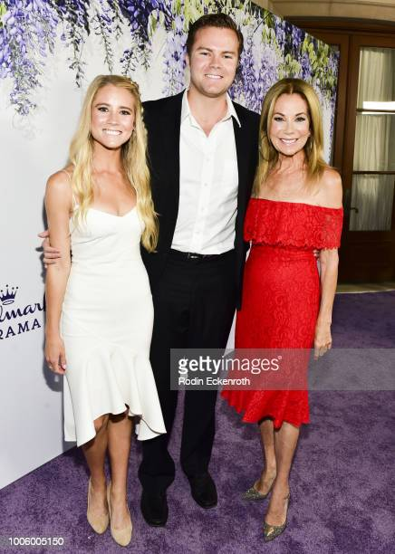 Cassidy Gifford Cody Gifford and Kathie Lee Gifford attend the 2018 Hallmark Channel Summer TCA at a private residence on July 26 2018 in Beverly...