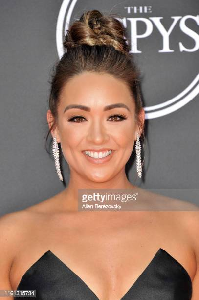 Cassidy Hubbarth attends the 2019 ESPY Awards at Microsoft Theater on July 10 2019 in Los Angeles California