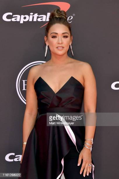 Cassidy Hubbarth attends The 2019 ESPYs at Microsoft Theater on July 10 2019 in Los Angeles California