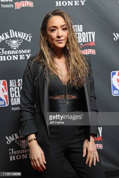 Cassidy Hubbarth attends the 2019 NBA AllStar Celebrity Game at Bojangles Coliseum on February 15 2019 in Charlotte North Carolina