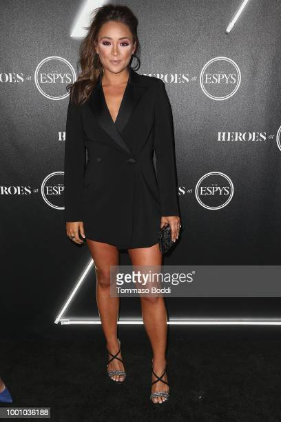 Cassidy Hubbarth attends the ESPN's HEROES At THE ESPYS Official PreParty at City Market Social House on July 17 2018 in Los Angeles California