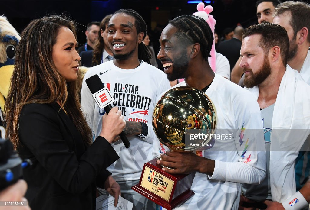 2019 NBA All-Star Celebrity Game - Inside : News Photo