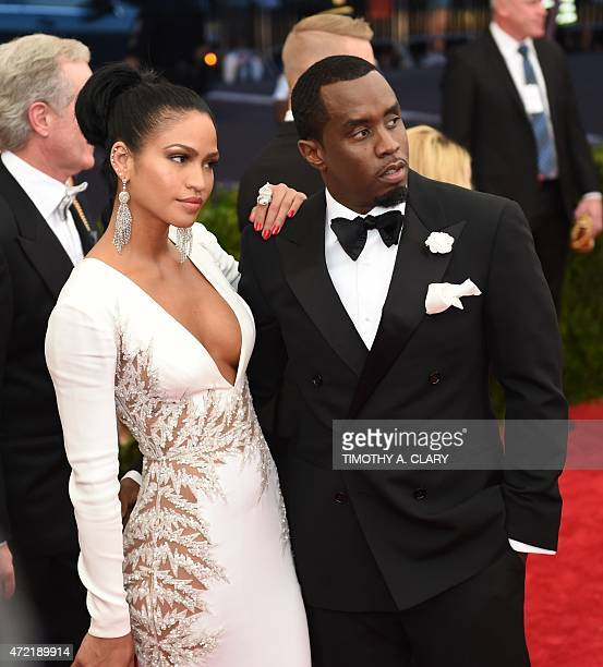 Cassie and Sean Combs arrives at the 2015 Metropolitan Museum of Art's Costume Institute Gala benefit in honor of the museums latest exhibit China...