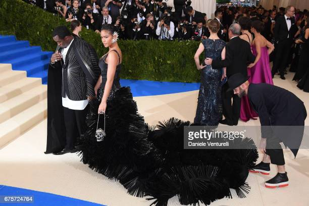 Cassie and Sean 'P Diddy' Combs attends 'Rei Kawakubo/Comme des Garcons Art Of The InBetween' Costume Institute Gala Arrivals at Metropolitan Museum...
