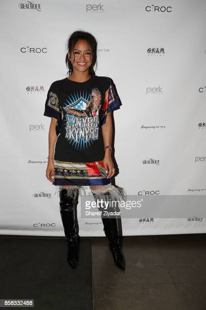 Cassie attends Cassie's 'Love A Loser' Short Film Single Listening Party at Beautique on October 5 2017 in New York City