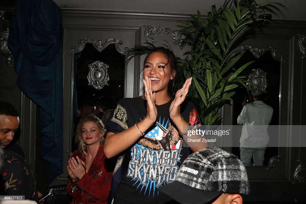 Cassie attends Cassie's 'Love A Loser' Short Film & Single Premiere at Up & Down on October 5, 2017 in New York City.