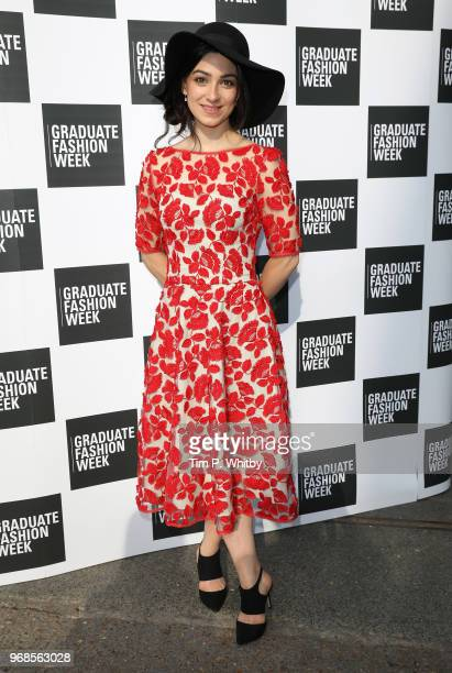 Cassie Bradley attends the Graduate Fashion Week Gala at The Truman Brewery on June 6 2018 in London England
