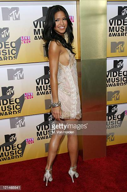 Cassie during 2006 MTV Video Music Awards Arrivals at Radio City Music Hall in New York City New York United States