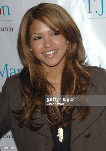 Cassie during The 8th Annual TJ Martell Foundation Family Day March 4 2007 at Roseland Ballroom in New York City New York United States