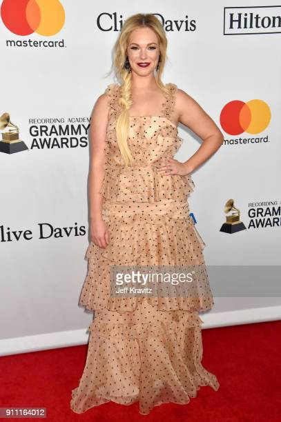 Cassie McConnell Kelley attends the Clive Davis and Recording Academy PreGRAMMY Gala and GRAMMY Salute to Industry Icons Honoring JayZ on January 27...