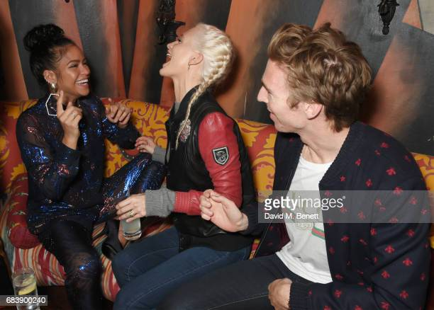 Cassie Poppy Delevingne and James Cook attend the 'Can't Stop Won't Stop A Bad Boy Story' dinner hosted by Sean 'Diddy' Combs Naomi Campbell...