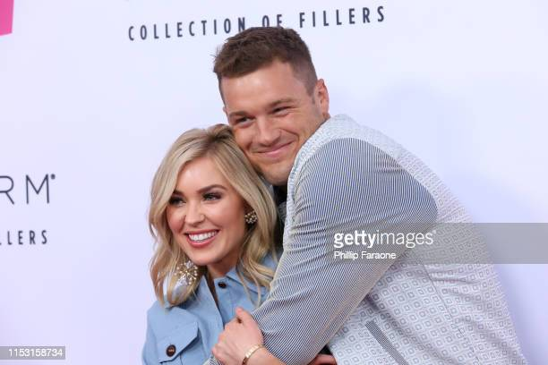 Cassie Randolph and Colton Underwood attend 2019 iHeartRadio Wango Tango at The Dignity Health Sports Park on June 01 2019 in Carson California
