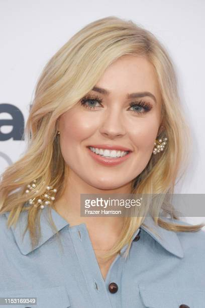 Cassie Randolph attends 2019 iHeartRadio Wango Tango presented by The JUVÉDERM® Collection of Dermal Fillers at The Dignity Health Sports Park on...