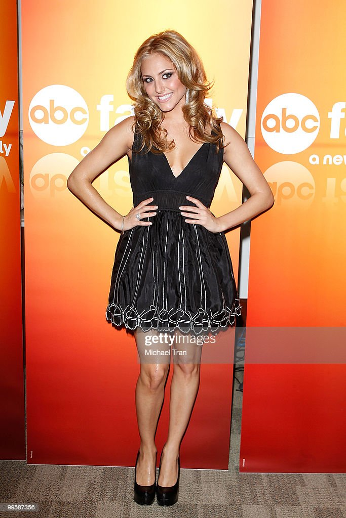 Cassie Scerbo arrives to the Disney/ABC Television Group press junket held at the ABC Television Network Building on May 15, 2010 in Burbank, California.