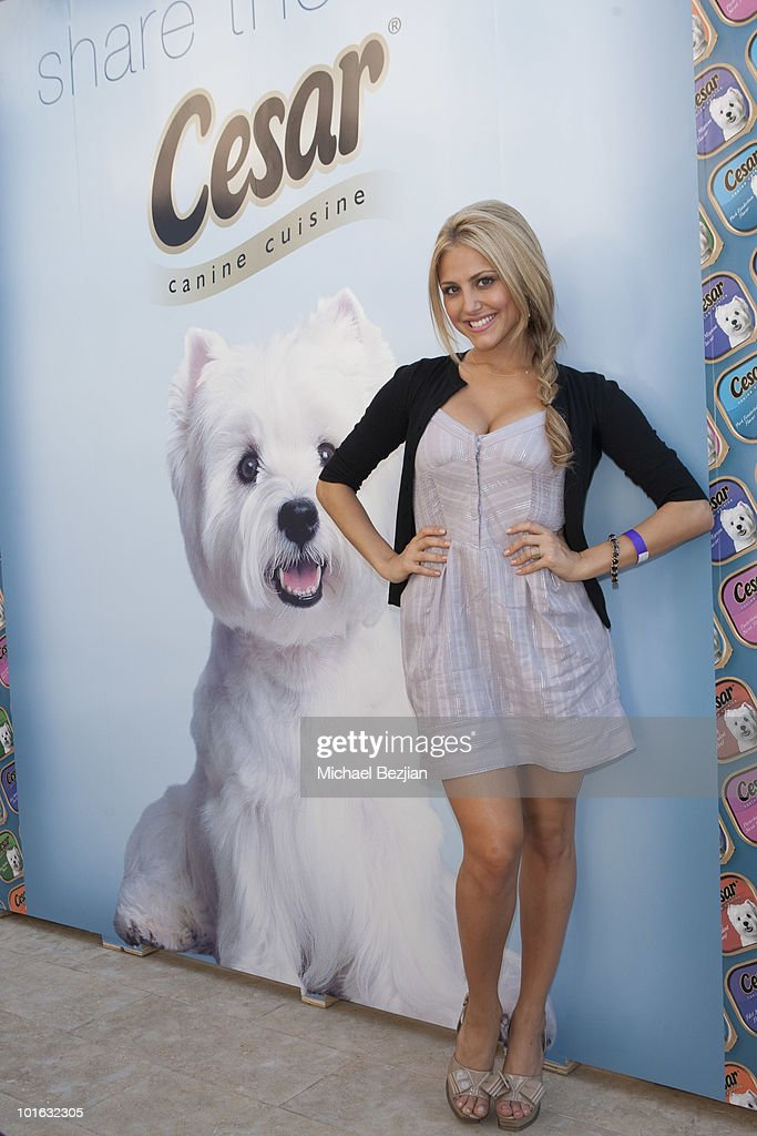 Cassie Scerbo attends Cesar Canine Cuisine at Kari Feinstein MTV Movie Awards Style Lounge-Day 2 at Montage Beverly Hills on June 4, 2010 in Beverly Hills, California.