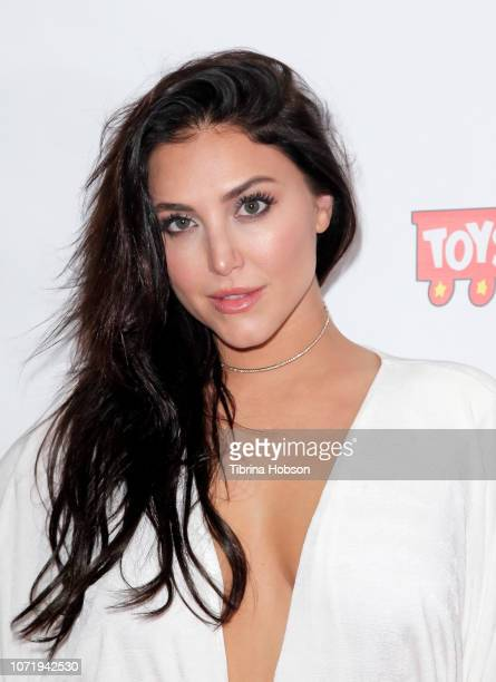 Cassie Scerbo attends the 6th annual Winter Wonderland Toys for Tots Party hosted by Katie Welch and Jordan Kuker on December 11 2018 in Los Angeles...
