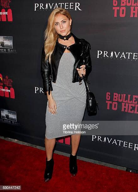 Cassie Scerbo attends the launch of '6 Bullets To Hell' on May 10 2016 in Los Angeles California