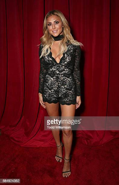Cassie Scerbo attends the Maxim Hot 100 Party at Hollywood Palladium on July 30 2016 in Los Angeles California