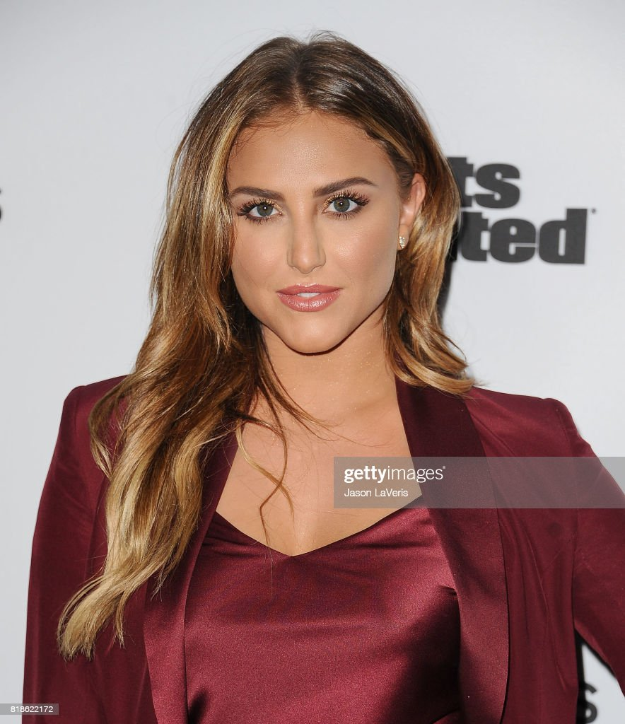 Cassie Scerbo attends the Sports Illustrated Fashionable 50 event at Avenue on July 18, 2017 in Los Angeles, California.