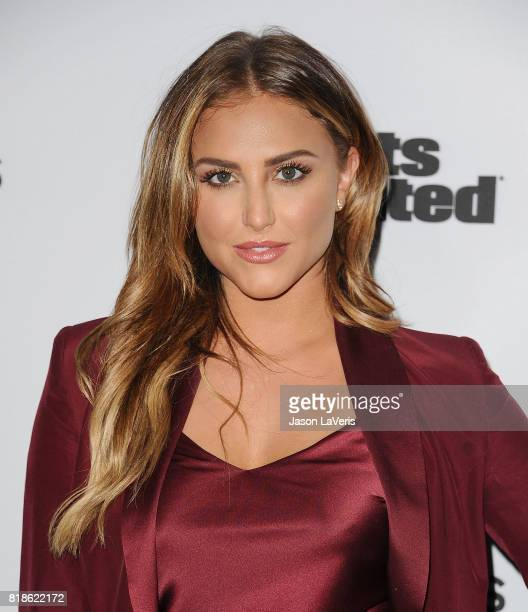 Cassie Scerbo attends the Sports Illustrated Fashionable 50 event at Avenue on July 18 2017 in Los Angeles California