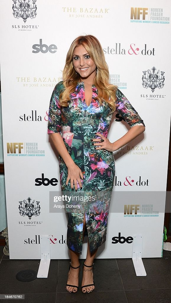 Cassie Scerbo attends the Stella & Dot Trunk Show Benefiting The Noreen Fraser Foundation at The Bazaar at the SLS Hotel Beverly Hills on October 14, 2013 in Los Angeles, California.