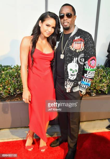 Cassie Ventura and Sean Diddy Combs attend the Los Angeles Premiere of Apple Music's CAN'T STOP WON'T STOP A BAD BOY STORY at The WGA Theater on June...
