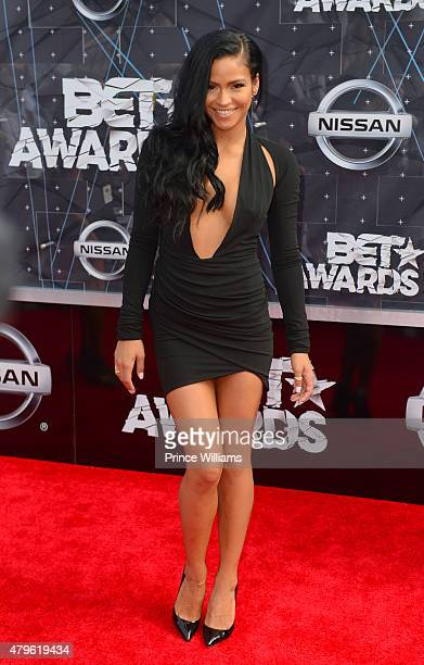 Cassie Ventura attends the 2015 BET awards on June 28 2015 in Los Angeles California