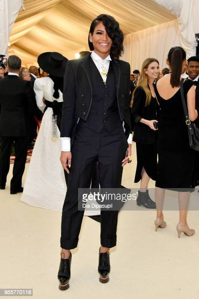 Cassie Ventura attends the Heavenly Bodies Fashion The Catholic Imagination Costume Institute Gala at The Metropolitan Museum of Art on May 7 2018 in...