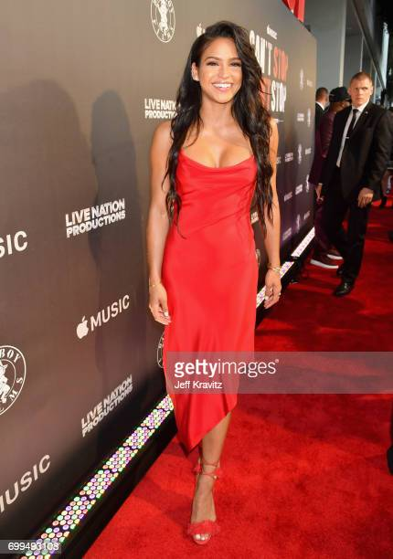 Cassie Ventura attends the Los Angeles Premiere of Apple Music's CAN'T STOP WON'T STOP A BAD BOY STORY at The WGA Theater on June 21 2017 in Beverly...