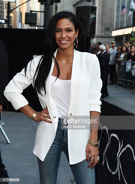 Cassie Ventura attends the Sean 'Diddy' Combs Fragrance Launch at Macy's Herald Square on May 6 2015 in New York City