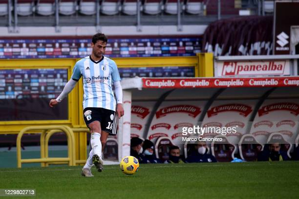 Cassio Cardoselli of Virtus Entella in action during the Serie A Coppa Italia match between Torino Fc and Virtus Entella . Torino Fc wins 2-0 over...