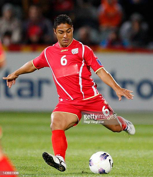 Cassio of Adelaide United during the AFC Asian Champions League match between Adelaide United and Bunyodkor at Hindmarsh Stadium on May 2 2012 in...