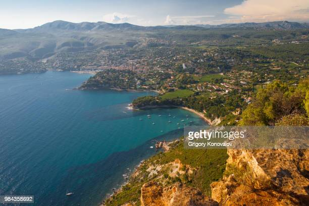 cassis - bouches du rhone stock pictures, royalty-free photos & images