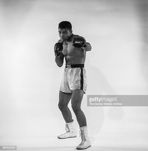 Cassius Clay, 20 year old heavyweight contender from Louisville, Kentucky poses for a portrait on May 17, 1962 in Bronx, New York.
