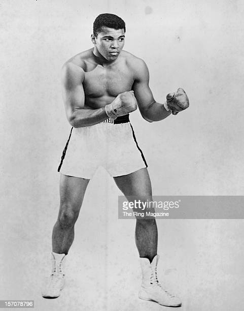 Cassius Clay poses for a Portrait