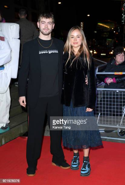 Cassius Taylor and Lady Amelia Windsor attend the Naked Heart Foundation's Fabulous Fund Fair during London Fashion Week February 2018 at the...