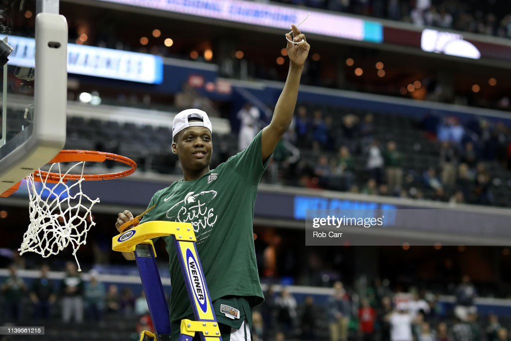 Michigan State v Duke : News Photo