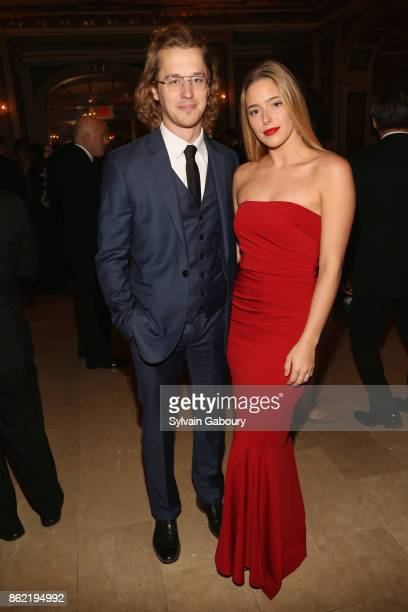 Casson Rugen and Julie Korman attend World Monuments Fund 2017 Hadrian Gala honoring Frank Stella and Deborah Lehr on October 16 2017 in New York City