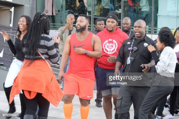 Cassper Nyovest during the June 16 Youth Day Celebration concert at Time Square Sun Arena on June 16 2018 in Pretoria South Africa The concert is in...