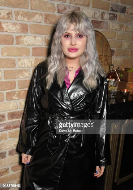 Cassyette attends the Copper Dog NME Awards 2018 after party at Kadie's Cocktail BarClub on February 14 2018 in London England