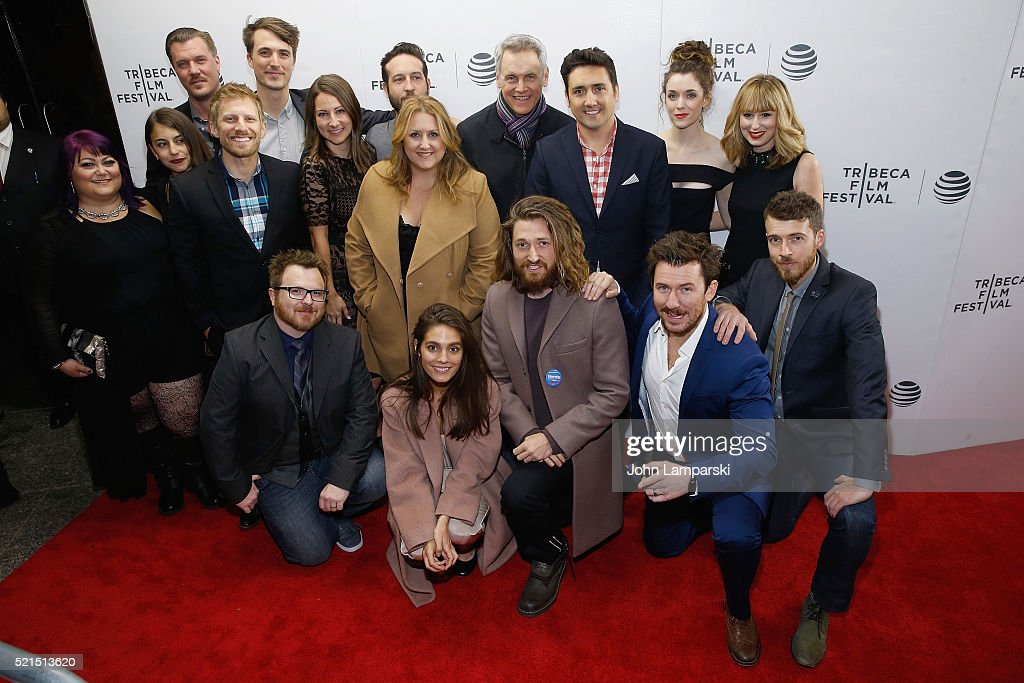 Cast ad crew attend 'Fear, Inc.' Premiere during the 2016 Tribeca Film Festival at Chelsea Bow Tie Cinemas on April 15, 2016 in New York City.