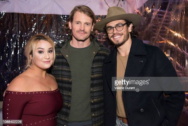 TROUBLE Cast and creators of Good Trouble celebrate the upcoming series premiere with press and influencers at a special communal dining experience...