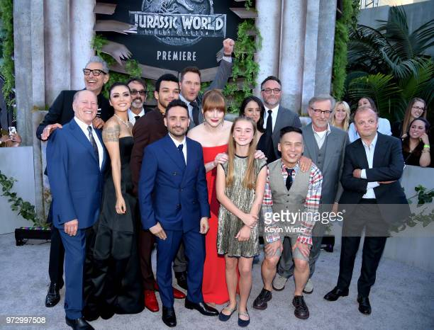 Cast and crew arrive at the premiere of Universal Pictures and Amblin Entertainment's Jurassic World Fallen Kingdom at the Walt Disney Concert Hall...