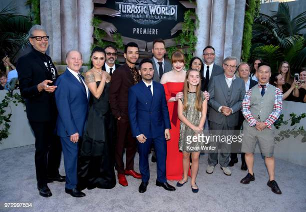 Cast and crew arrive at the premiere of Universal Pictures and Amblin Entertainment's 'Jurassic World Fallen Kingdom' at the Walt Disney Concert Hall...