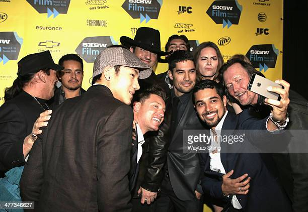 Cast and crew attend From Dusk Till Dawn The Series Pilot Photo Op and QA during the 2014 SXSW Music Film Interactive Festival at Austin Convention...