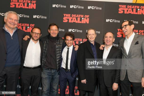 Cast and crew attend New York premiere of IFC Film Death of Stalin at AMC Lincoln Square