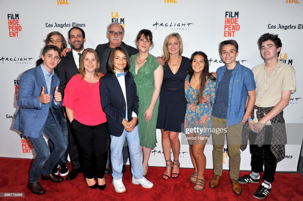 Cast And Crew Attend Premiere Of And Then I Go During 2017