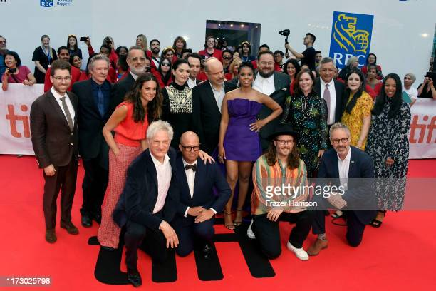 Cast and crew attend the A Beautiful Day In The Neighborhood premiere during the 2019 Toronto International Film Festival at Roy Thomson Hall on...